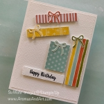 Stampin' Up! Sale & Happy Birthday Presents