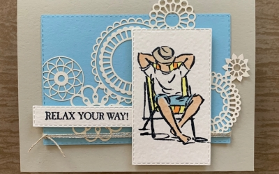 By Su Mohr for Paper Players Design Team; Click READ or VISIT to go to my blog for details! Featuring: A Good Man stamp set, Stitched Rectangle dies, Laser-cut paper, Stampin' Blends, watercolor paper; #agoodman #masculinecards # stitchedrectangledies #watercolorpaper #stampinblends #vacation #handmadecards #handcrafted #diy #fathersdaycards