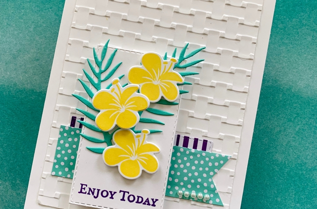Tropical Friendship Card