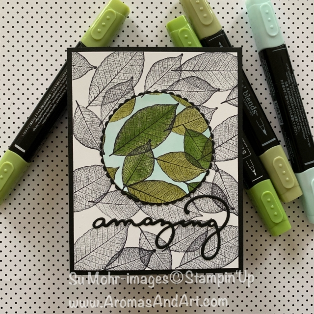 By Su Mohr for Kre8tors techniques; Click READ or VISIT to go to my blog for details! Featuring: spotlighting technique, Rooted In Nature stamp set, Layering Circle dies, Celebrate You dies Stampin' Blends; #rootedinnature #stampinblendmarkers #alcoholmarkers #stampingtechniques #cardtechniques #rootedinnature #celebrateyou #bloghops #ittybittygreetings #distinktive