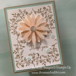 Daisy Delight Thank You Card