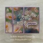Monet Style Designer Paper & Dragonflies
