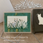 Nine Lives Cat and Cattails