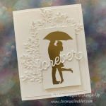 Sweet Silhouettes Bridal Card for the Kre8tors Blog Hop