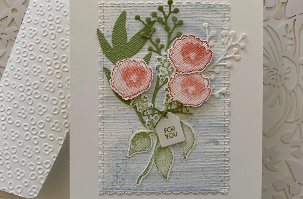 Floral Theme for the Kre8tors July Blog Hop