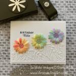 Whimsical Rainbow Daisies