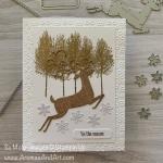 Burlap Reindeer Christmas In July