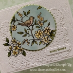 Bird Ballad Thank You Card for the Paper Players Design Team