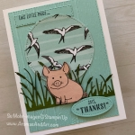 "This Little Piggy Says ""Thanks!"""