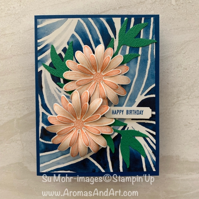 By Su Mohr for Fab Fri; Click READ or VISIT to go to my blog for details! Featuring: Daisy delight, Daisy Lane, Daisy Punch, See A Silhouette, Frosted bouquet; #daisies #daisiesoncards #daisypunch #colorchallenges #colorcombinations #handmadecards #handcrafted #howtomakeflowers #paperflowers