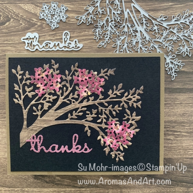 By Su Mohr for tgif; Click READ or VISIT to go to my blog for details! Featuring: Sweet Silhouettes Dies, Well Written Dies, Bouquet Bunch Dies; #thankyoucards #handmadecards #handcrafted #diy #cardmaking #sweetsilhouettes #wellwritten #bouquetbunch #pressedpetals #cardchallenges