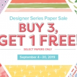 Stampin' Up's Designer Series Paper Sale