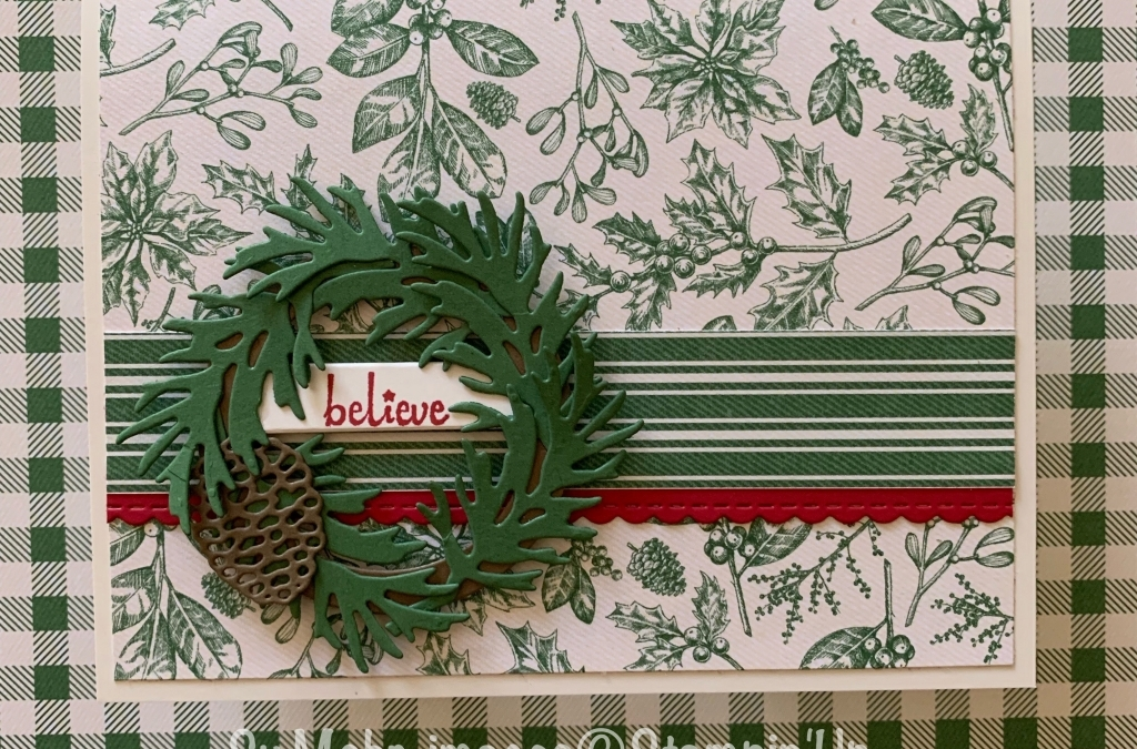 Christmas Wreath of Beautiful Boughs
