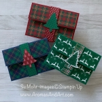 By Su Mohr for Pals Nov Blog Hop; Click READ or VISIT to go to my blog for details! Featuring: Wrapped In Plaid DSP, Pine Tree Punch, Stampin