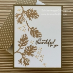 Beautiful Boughs Thanksgiving Card