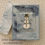 Snowman Season Holiday Card