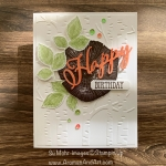 By Su Mohr for TGIF; Click READ or VISIT to go to my blog for details! Featuring: Rooted In Nature Stamp Set, Nature