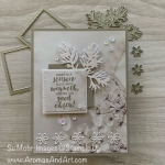 By Su Mohr for FMS; Click READ or VISIt to go to my blog for details! Featuring: Feels Like Frost DSP, Layering Squares Dies, Beautiful Boughs Dies, Detailed Deer Dies, Sparkle Glimmer Paper, First Frost Stamp Set; #christmascards #holidaycards #feelslikefrost #beautifulboughs #firstfrost #feelslikefrost #handmadecards #handcrafted #diy #cardmaking #stampinup