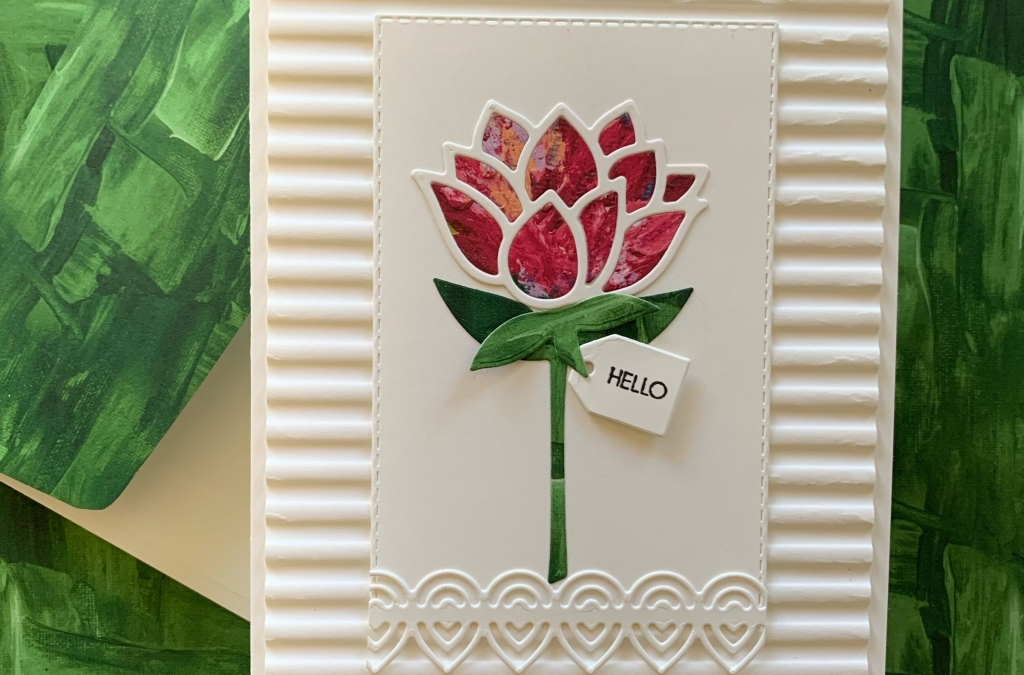 Paper-Piecing Technique Water Lily