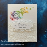 By Su Mohr for TGIF and CAS(E) this sketch; Click READ or VISIT to go to my blog for details! Featuring: Stargazing Stamp Set, Playful Penguins Stamp Set,Assorted Sequins, Stampin