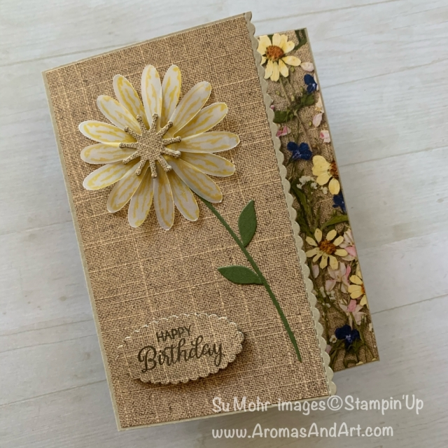 By Sui Mohr for Seize the Birthday; Click READ or VISIT to go to my blog for details! Featuring: Pressed Petals DSP, Daisy Delight Stamp Set, Daisy Punch, Be Mine Stitched Dies, Beautiful; bouquet Stamp Set, Magnolia memory Die Set, layering Ovals Dies; #daisydelight #daisypunch #daisies flowersoncards #pressedpetals #birthdaycards #handmadecards #handcrafted #diy #cardmaking #cardchallenges