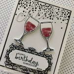by Su Mohr for Seize the Birthday; Click READ or VISIT to go to my blog for details! Featuring: Sip Sip Hooray Stamp Set, Sip & Celebrate Dies, Cheers Dies, Ornate Frames Dies, Beautiful You Stamp Set, Sparkle Glimmer Paper; #birthdaycards #cheers #toasting #wine ##wineoncards #sipsiphooray #celebrationcards #redwine #beautifulyou #handmadecards #handcrafted #diy #cardmaking #cardchallenges #ornateframes