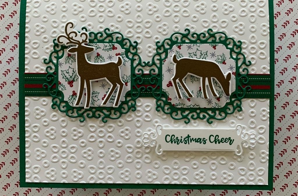 Dashing Deer For Christmas Cheer