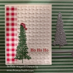 By Su Mohr for FMS; Click READ or VISIT to go to my blog for details! Featuring: Majestic Mountain Die Set, Playful Penguins Stamp Set, Perfectly Plaid Stamp Set, Stitched Rectangles Dies, Basket Weave embossing; #christmascards #majesticmountains #christmastrees #trees #santahats #cardchallenges #cardsketches #holidaycards #handmadecards #handcrafted #diy #cardmaking #2020catalog