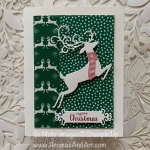 By Su Mohr; Click READ or VISIT to go to my blog for details! Featuring: Detailed Deer Dies, Itty Bitty Christmas Stamp Set, Ornate Frames Dies, Playful Penguin Stamp Set, Stitched Rectangles Dies; #christmascards #reindeer #holidaycards #deer #wrappedinplaid #detaileddeer #ornateframes #cardchallenges #cardsketches #handmadecards #handcrafted #dit #cardmaking #2019holiday