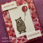By Su Mohr for cts; Click READ or Visit to go to my blog for details! Featuring: Special Someone Stamp Set, Stitched So Sweetly Dies, Peaceful Poppies Designer Paper, Stamparatus, two-step stamping; #stampingtechniques #twostepstamping #Specialsomeone #stitchedsosweetly #stamparatus #raccoons #raccoonsoncards #getwellcards #peacefulpoppies #poppies #poppiesoncards #animalsoncards #2020minicatalog #stampinup