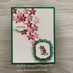 By Su Mohr for GDP; Click READ or VISIT to go to my blog for details! Featuring: Special Someone Stamp Set, Ornate Frames Dies, Stitched So Sweetly Dies, Itty Bitty Greetings Stamp Set; #friendshipcards #specialsomeone #2020catalog #2020stampinup #mouse #mouseonacard #mice #yearoftherat #handmadecards #handcrafted #diy #cardmaking #colorcombos