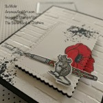 By Su Mohr for Sisterhood Design Team and cts; Click READ or VISIT to go to my blog for details! Featuring:Special Someone Stamp Set, Special Day Dies, Painted Poppies Stamp Set, Stitched So Sweetly Dies, CRafting Forever Stamp Set, Brick& Mortar embossing; #mice #mouseonacard #specialsomeone #specialdaydies #paintedpoppies #stitchedsosweetly #handmadecards #handcrafted #diy cardmaking #thankyoucards