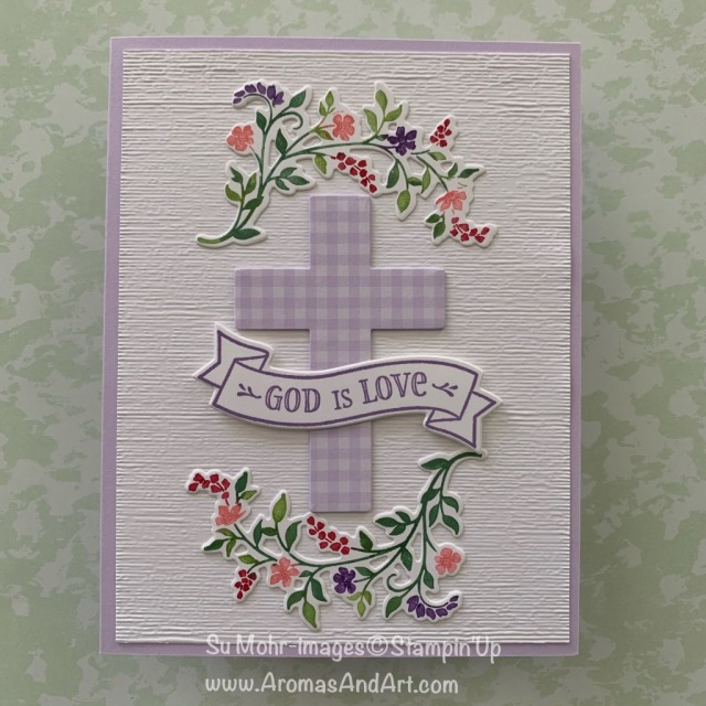 By Su Mohr for Sisterhood of Crafters Design Team; Click READ or VISIT to go to my blog for details! Featuring: Hold On To Hope Stamp SEt, Cross Of Hope DIes, Stampin' Write Markers; #inktostamptechnique #eastercards #sympathycards #holdontohope #crossofhope #crossesoncards #god #religiouscards #handmadecards #handcrafted #diy #cardmaking