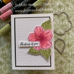 By Su Mohr for FMS and Sisterhood; Click READ or VISIT to go to my blog for details! Featuring: Timeless Tropical Stamp Set, Colorful Seasons Stamp Set, Scripty embossing, Rectangle Stitched Dies, In The tropics Dies, Stampin