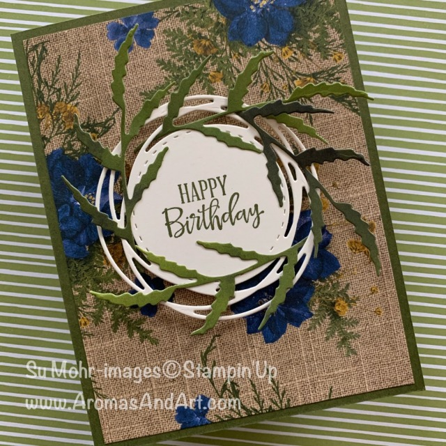 By Su Mohr; Click READ or VISIT to go to my blog for details! Featuring: Peaceful Moments Stamp Set, Painted Labels Dies, Poppy Moments Dies, Pressed Petals Designer Paper