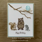 By Su Mohr for Seize the Birthday; Click READ or VISIT to go to my blog for details! Featuring: Special Someone Stamp Set, Seasonal Layers Dies; #birthday cards #someonespecial #animalsoncards #critters #squirrels #raccoons #mice #handmadecards #handcrafted #diy #cardmaking #surpriseparties
