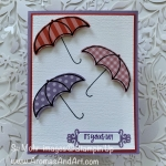 By Su Mohr for Fab Fri and Paper Players; Click READ or VISIT to goo to my blog for details! Featuring: Under My Umbrella Bundle, Umbrella Builder PunchOrnate Frames Dies, #undermyumbrella #umbrellas #umbrellasoncards #showercards #weddingshowers #babyshowers #2020minicatalog 2020stampinup #handmadecards #handcrafted #diy #cardmaking #cardchallenges #colorcombos