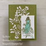 By Su Mohr; Click READ or VISIT to go to my blog for details! Featuring: Beautiful Moments Stamp Sert, Shimmer Detailed Laser-Cut Paper, Tropical Oasis DSP, Stampin' Blends; #beautifulmoments #laser-cutpaper #stampinblends #stampinblends #alcoholmarkers #handmadecards #handcrafted #cardmaking #diy #papercrafting #thinkingofyou #friendshipcards