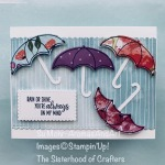 By Su Mohr for Sisterhood of Crafters Design Team; Click READ or VISIT to go to my blog for details! Featuring: UnderMy Umbrella Stamp Set, Umbrella Punch, Peaceful Poppies DSP, Stitched So Sweetly Dies; #undermyumbrella #umbrellapunch #peacefulpoppies #poppies #poppiesoncards #umbrellasoncards #friendshipcards #cardchallenges #cardthemes #handmadecards #handcrafted #diy #cardmaking #sisterhoodofcrafters