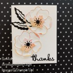 By Su Mohr; Click READ or VISIT to go to my blog for details! Featuring:Painted Poppies Stamp Set, Poppy Moments Dies, Well Written Dies, Black Foil Paper; #paintedpoppies #poppymoments #poppies #poppiesoncards #flowersoncards #blackfoil #wellwritten #handmadecards #handcrafted #diy #cardmaking #papercrafting #stampinup #2020minicatalog