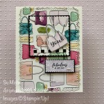 By Su Mohr for TGIF and Fab Fri; Click READ or VISIT to go to my blog for details! Featuring: Best Dressed Designer Paper, Layering Squares Dies, Ornate Layers Dies, Itty Bitty Greetings Stamp Set, Stitched So Sweetly Dies; #bestdressed #handbags #purses #handbagsoncards #Ittybittygreetings #saleabration #stampinup #2020mincatalog #cardthemes #cardsketches #handmadecards #handcrafted #diy #cardmaking #papercrafting #girlfriendcards