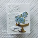 By Su Mohr for Fusion; Click READ or VISIT to go to my blog for details! Featuring: Happy Birthday To You Stamp Set, Birthday Dies, Layered Leaves Embossing, Gold Foil, Stampin