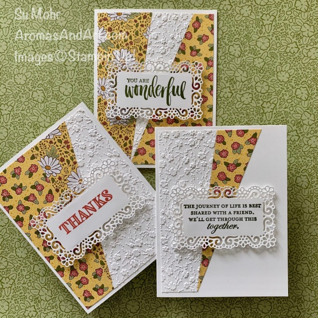 By Su Mohr for cts; Click READ or VISIT to go to my blog for details! Featuring: Ornate Garden Suite, Ornate Layers Dies, Ornate Garden DSP, Ornate Thanks, Good Morning Magnolia, Rooted In Nature, Paper Trimmer, Ornate Floral embossing; #ornategardensuite #ornategarden #earlyrelease #stampinup #cardsketches #cardchallenges #ornatelayersdies #ornategardendsp #handmadecards #handcrafted #diy #cardmaking #papercrafting #aprilfoolsday