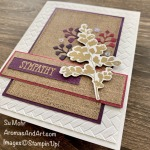 By Su Mohr for FMS; Click READ or VISIOT to go to my blog for details! Featuring: Positive Thoughts Stamp Set, Nature