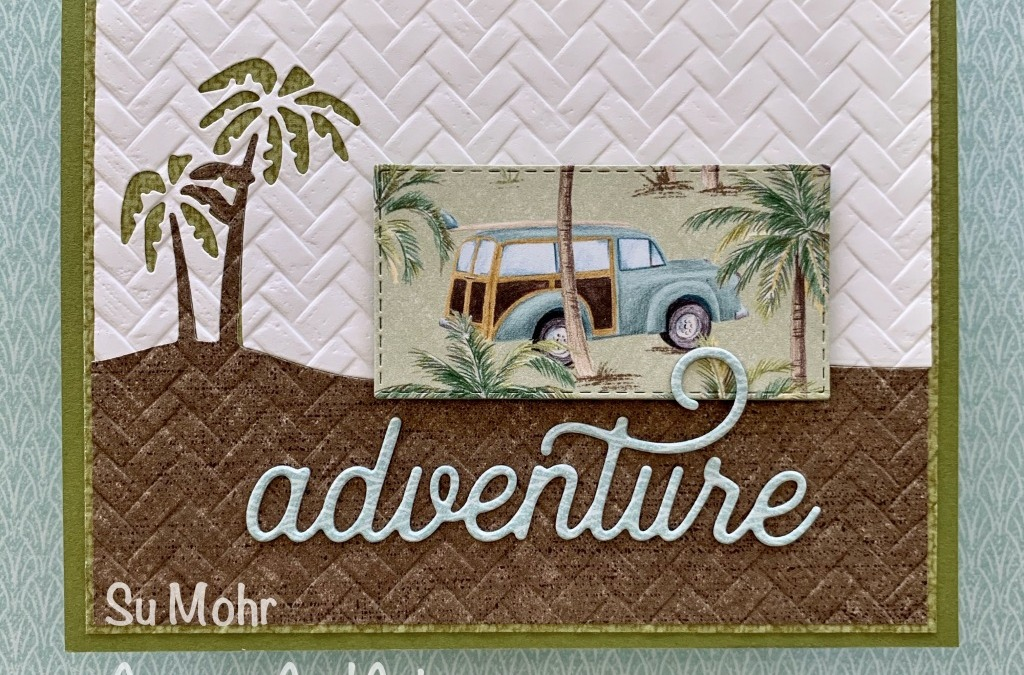 Tropical Adventure Greeting Card