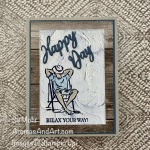 By Su Mohr; Click READ or VISIT to go to my blog for details! Featuring: A Good Man Stamp Set, In Good Taste DSP, Word Wishes Dies, Stampin