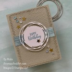 By Su Mohr for #GDP244; Click READ or VISIT to go to my blog for details! Featuring: Painted Labels Dies, Peaceful Moments Stamp Set, Ornate Layers Dies, Tasteful Textile embossing; Ornate Layers Dies; #peacefulmoments #paintedlabelsdies #ornatelayersdies #tastefultextile #birthdaycards #masculinebirthdaycards #handmadecards #handcrafted #diy #cardmaking #papercrafting #cardsforguys #cardchallenges #gdp244