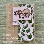 By Su Mohr for the Kre8tors Blog Hop; Click READ or VISIT to go to my blog for details! Featuring: Back On Your Feet Stamps Set, Forever Greenery DSP, Ornate Layers Dies, Ornate Frames Dies, Stampin