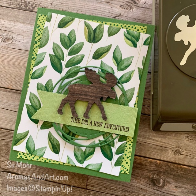 By Su Mohr for #GDP250; Click READ or VISIT to go to my blog for details! Featuring: Moose Punch, In Good Taste DSP, Painted Labels Dies, Banner Triple Punch, Forever Greenery DSP, Well Said Stamp Set; #moose #moosepunch #mooseoncards ##gdp250 #cardsketches #forevergreenery, #ingoodtaste #paintedlabels #handmadecards #handcrafted #diy #cardmaking #papercrafting